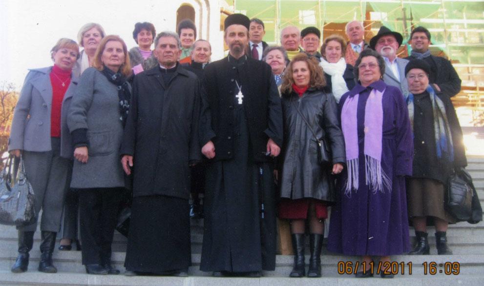 """Corul Bisericii Ortodoxe Române """"Sfânta Treime"""" la Mănăstirea Nicula"""