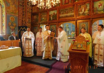 Slujbă de pomenire a părintelui Florea Mureșanu în Parohia Ciubanca
